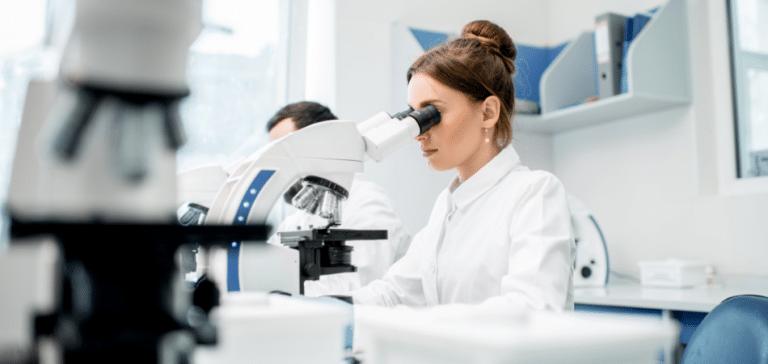 subsidies voor wetenschappelijk onderzoek. Onderzoekers in lab.